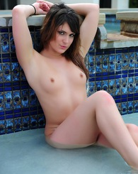 Stacy In The Pool
